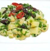 סלט תפוחי אדמה וזיתים